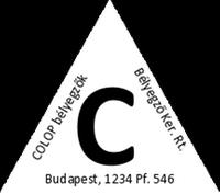Szöveglemez T 45 bélyegzőhöz